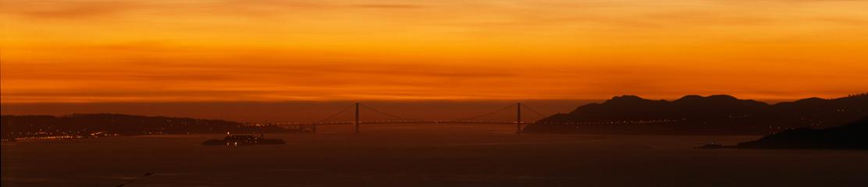 Golden Gate Bridge, 2 5 00, 7:17 am
